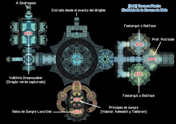 4. Mapa de mazmorra de raid