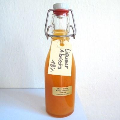 mazot de vex liqueur abricot artisanale