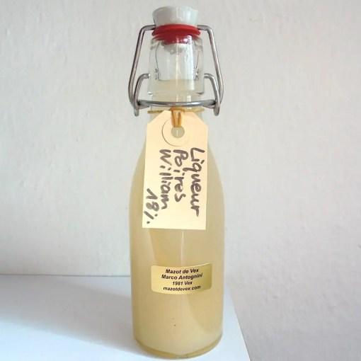 mazot de vex liqueur poire artisanale