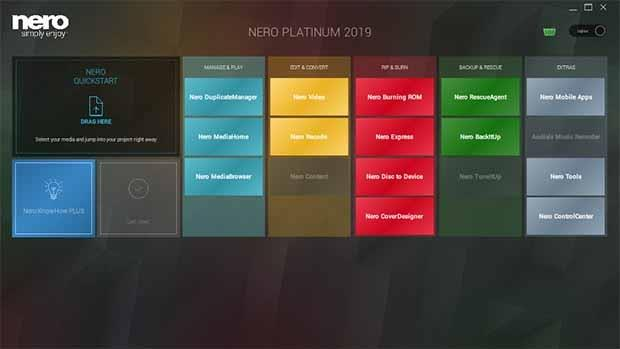 Nero Platinum 2019 Serial key Full Version