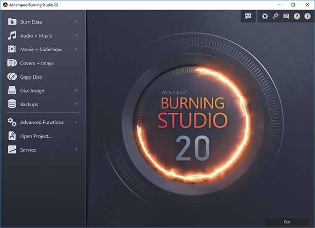 Ashampoo Burning Studio 21 Full Crack + Licence Key