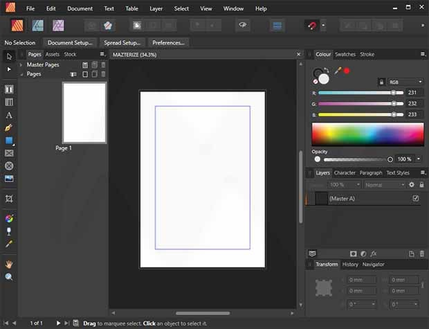 Serif Affinity Publisher Crack + Activation Code 2020