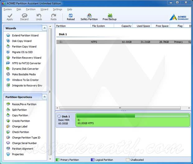 AOMEI Partition Assistant Crack + Keygen 2020