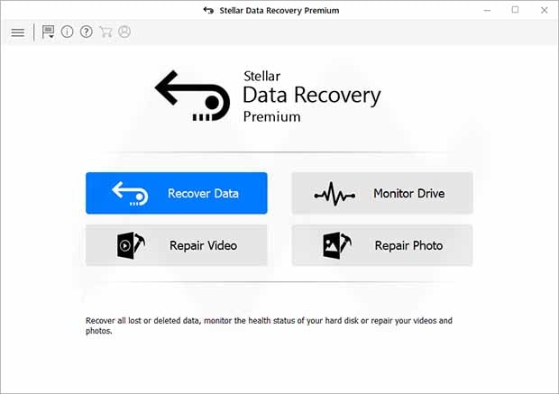 Stellar Data Recovery Professional / Premium Crack + Serial Key