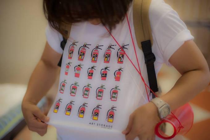 消火器Tシャツ