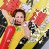 大分市の児童育成クラブで開催!10本の大型水鉄砲でウォーターシューティング