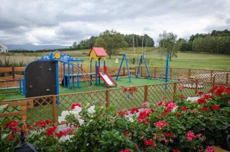 Plac zabaw - Mazurkowa Chatka