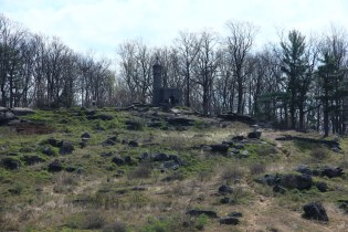 Looking Up at Little Round Top - Gettysburg