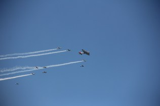 B-17/T-6 Formation