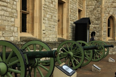 Cannons - Tower of London