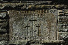 Hurtgen Forest Battlefield (German Cemetary)