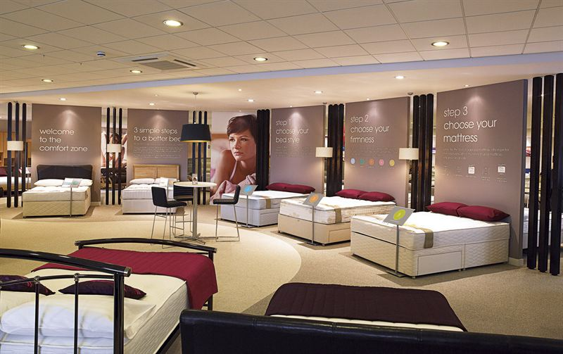 CONCEPT STORE BOOSTS TURNOVER FOR BENSONS FOR BEDS