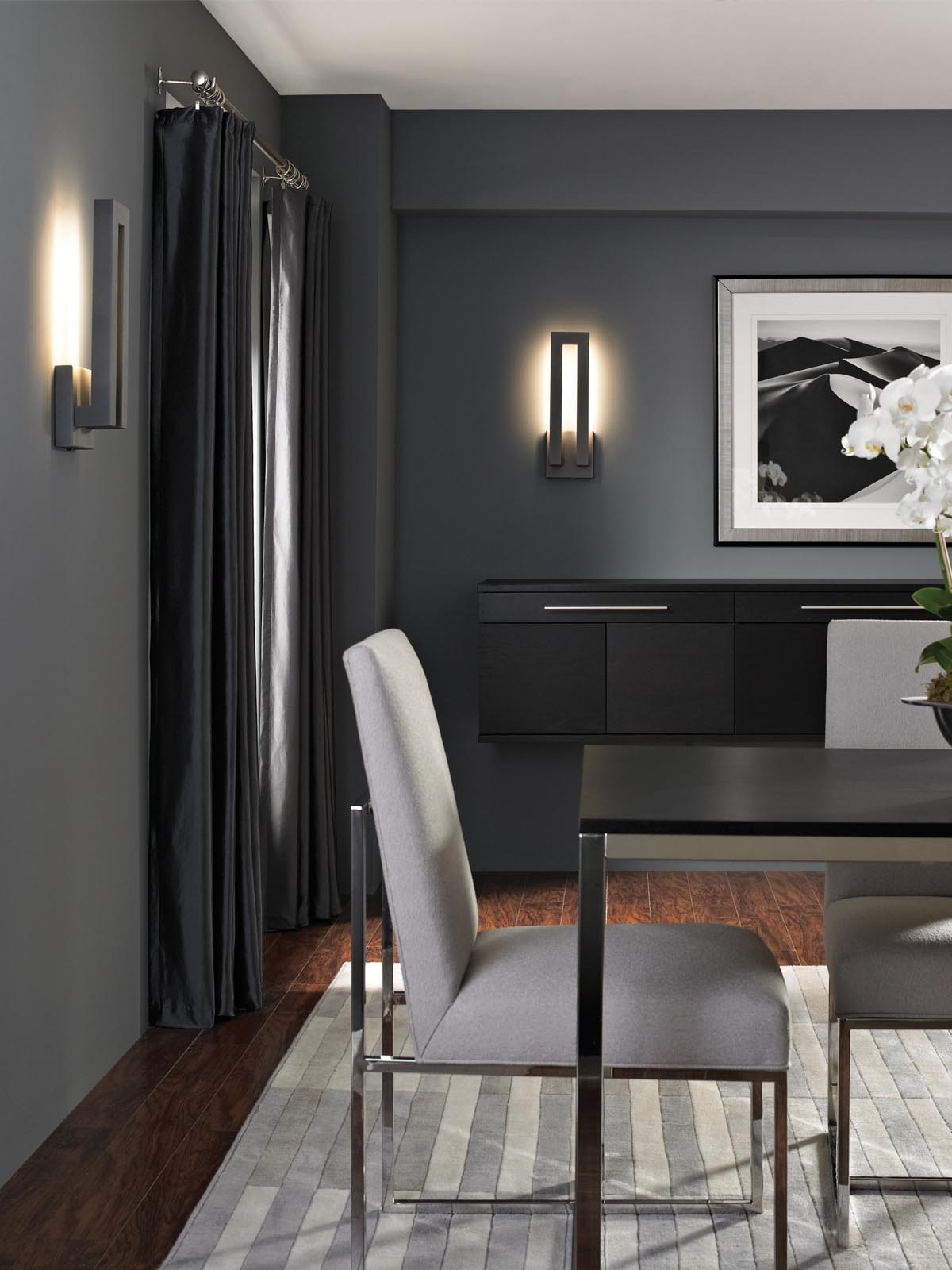 Forq Indoor/Outdoor LED Wall Sconce by Modern Forms ... on Modern Indoor Wall Sconce id=71348