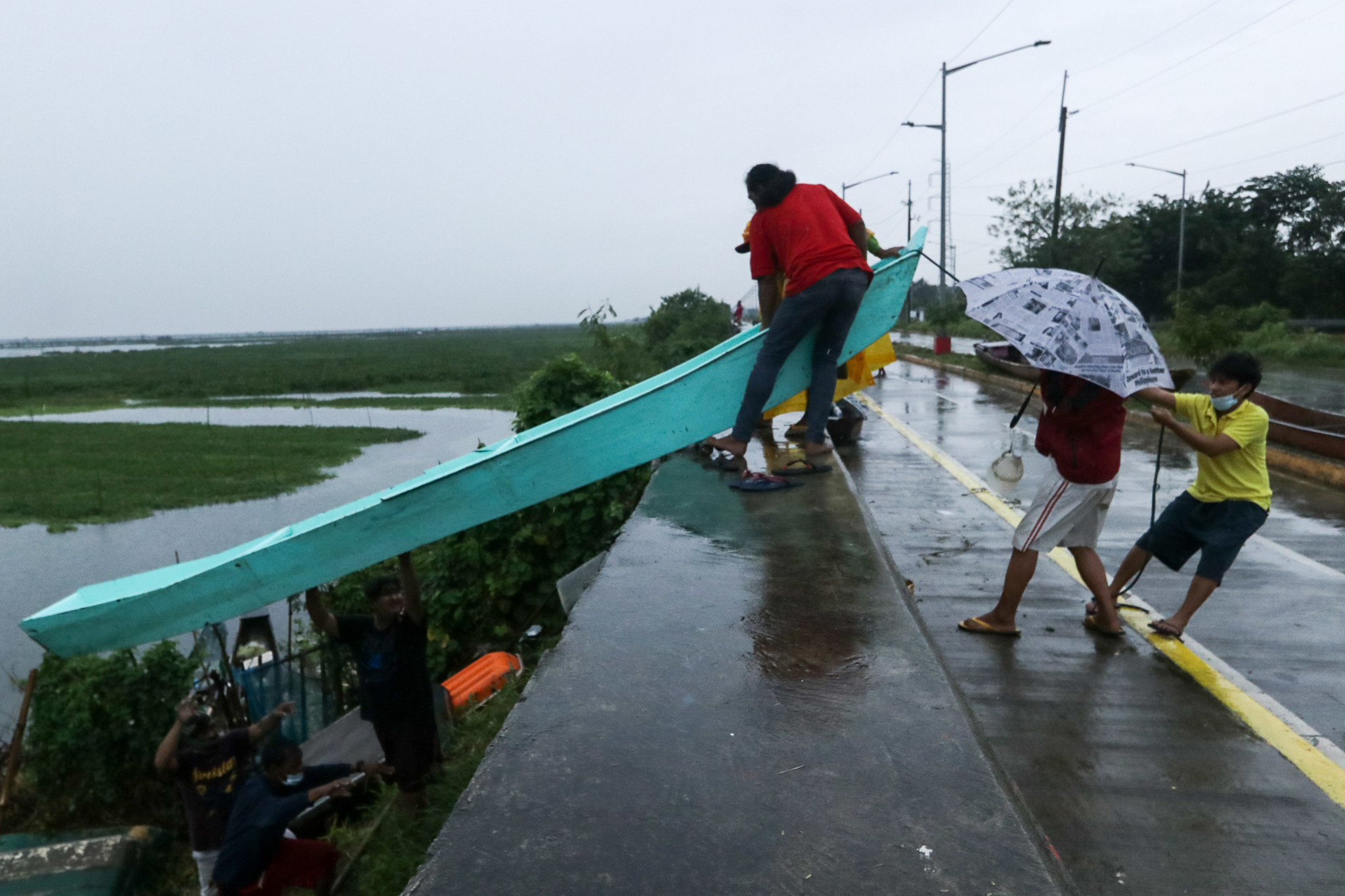 EU vows to help Filipino victims of strong typhoon
