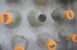 Mud in the PET bottles