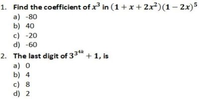 Quantitative Aptitude questions are MCQ type in CAT exam. Hence, one must be careful with the negative marks.