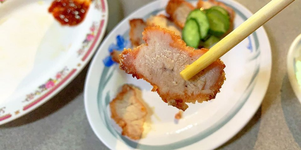 桃園。南門市場赤肉粥 | 桃園消夜 | 銅板美食