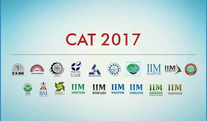 CAT IIM Ahmedabad, Indore, Kolkata, Bangalore