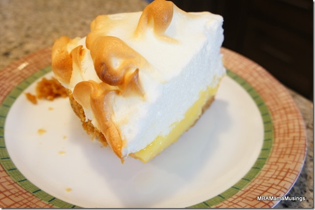 How To Cut Meringue Pie