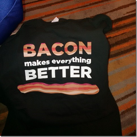 Bacon T-shirt from Maple Leaf Foods