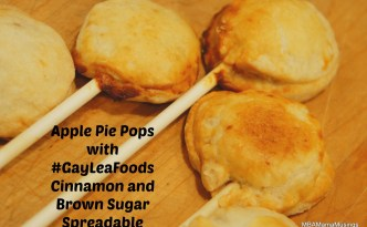 Apple Pie Pops made with GayLeaFoods Cinnamon Brown Sugar Spreadable
