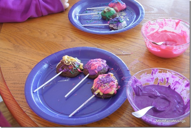 Decorate your own Chocolate lollipop