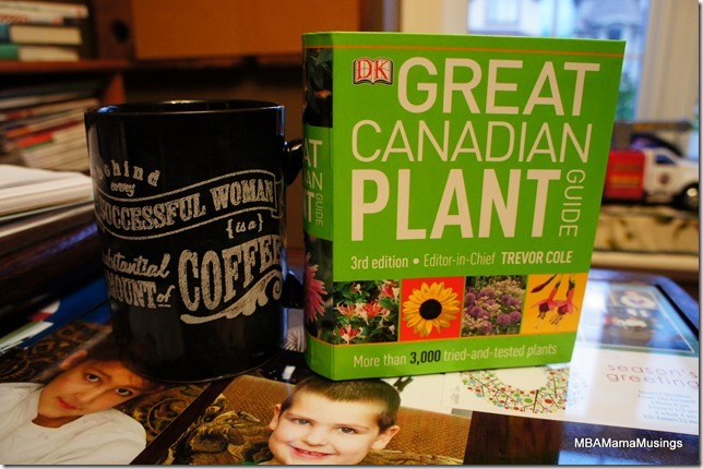 DK Great Canadian Plant Guide and Coffee Mug
