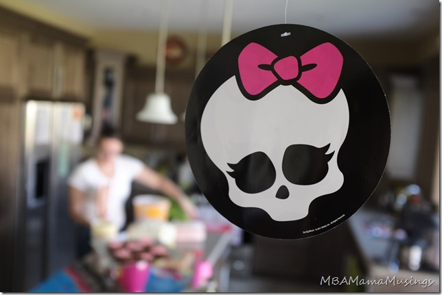 Monster High Skullette Decoration