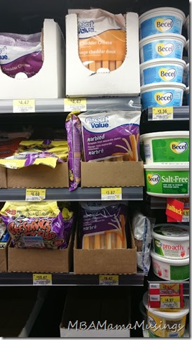 Great Value Prepackaged Cheese Sticks Walmart Canada