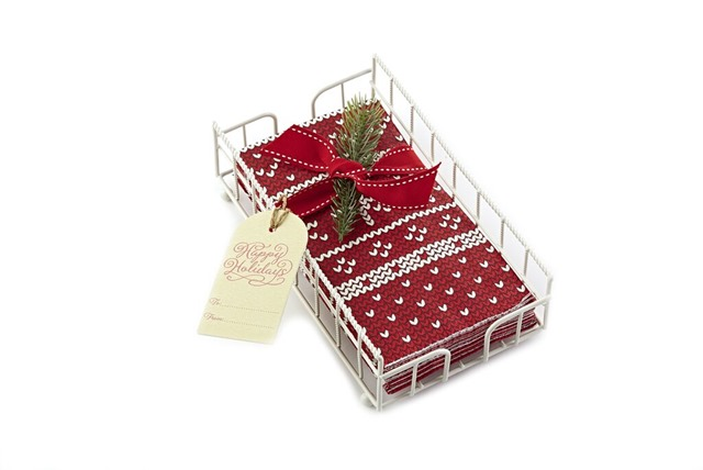 Guest Towel and Basket Set. MSRP $16.95 per set