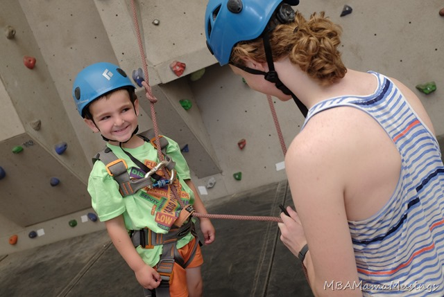 Ontario Pioneer Camp Rock Climbing Wall