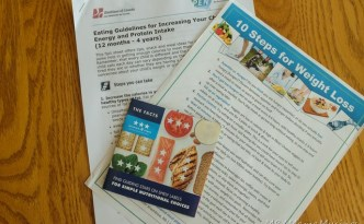 Zehrs Registered Dietitian Take Away Pamphlets