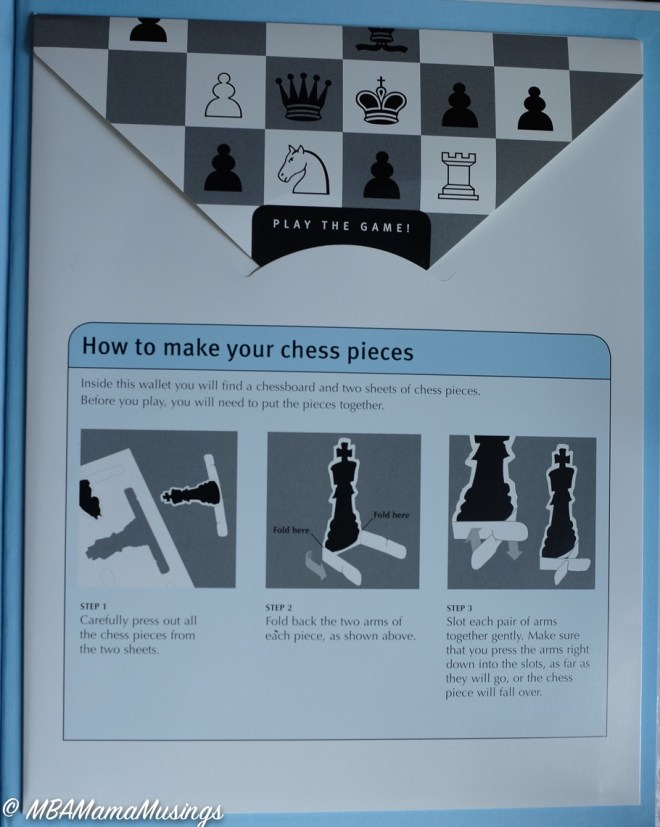 How to Play Chess Press Out Chess Pieces and Board
