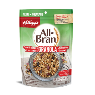 All-Bran Cranberry Granola