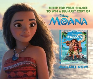 Win Disney's Moana