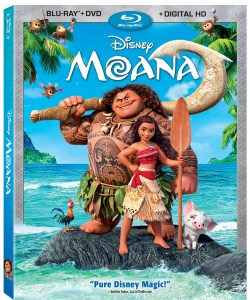 Disney Moana BluRay DVD