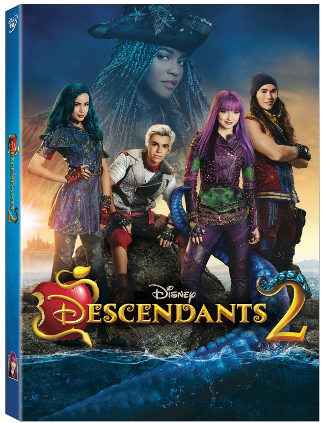 Disney Descendants 2 DVD Giveaway Canada