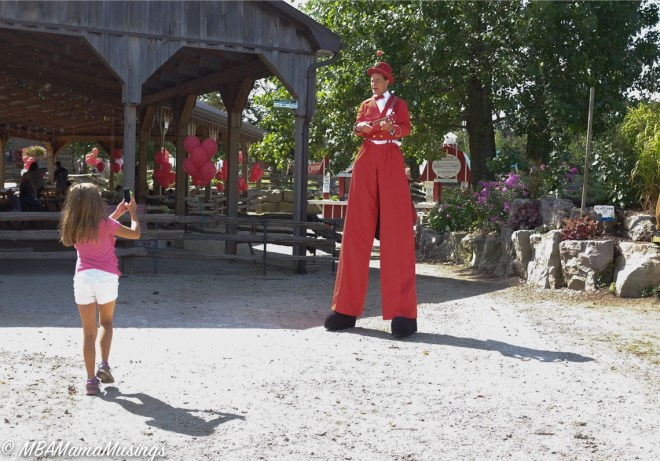 Chudleigh Apple Farm Stilt Walker Juggler