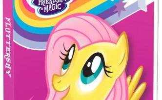 MLP Friendship is Magic Fluttershy Themed DVD