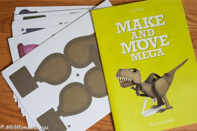 Paper Dinosaur Punch Out Book