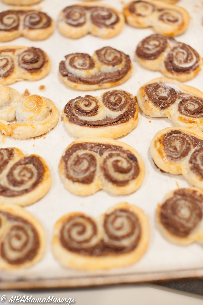 Chocolate Palmiers Kraft Heinz Philadelphia Cream Cheese