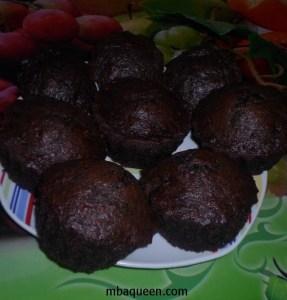 Вкусные шоколадно-банановые маффины
