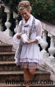 Удивительно женственный стиль бохо-шик