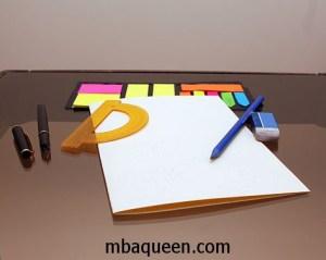 Как сделать красивую открытку своими руками - подготовка