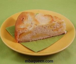 Простой рецепт яблочного пирога без яиц