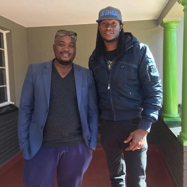 Jah Prayzah and Mambo Dhuterere