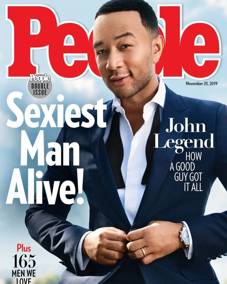 John Legend named People's Sexxiest Man Alive