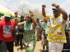 Kasukuwere with Grace Mugabe