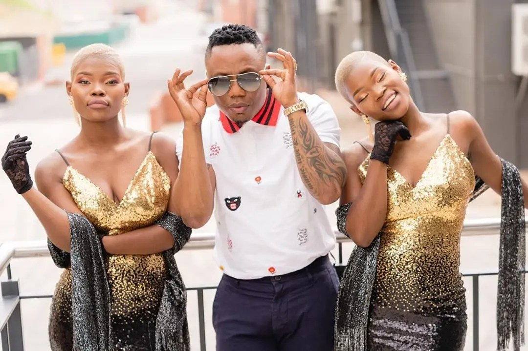DJ Tira and Qwabe Twins1 - DJ Tira & the Qwabe Twins in Studio cooking some hits