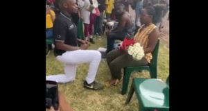 Wedding Proposal Goes Wrong